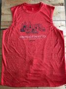 Afc Men's Red Sleeveless
