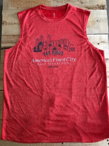 Afc Men's Red Sleeveless