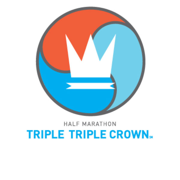 Half Marathon Triple Triple Crown Logo