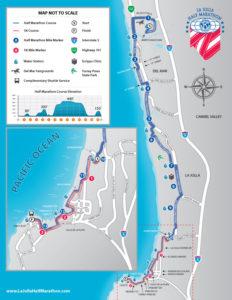 19 La Jolla Course Map