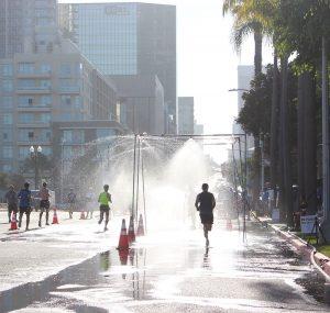 AFC Half Marathon runs through downtown San Diego