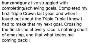 2. Goals, Crossing Finish Line