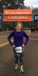 Laura Ecklund Carlsbad Running 2017