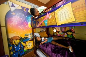 Legoland Castle Hotel Kids Sleeping Area
