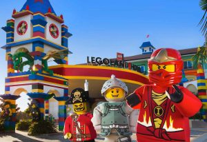 Legoland Hotel Exterior With Characters