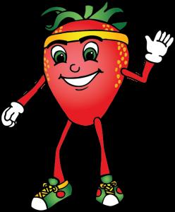 Strawberryrunnercartoon