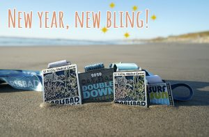 New Year running bling
